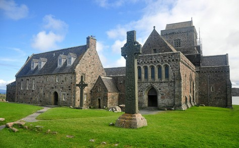 Iona Abbey, Scotland, by Roy Lathwell, on Flickr.  It is located on an island off the west coast of Scotland. Another place on my bucket list!