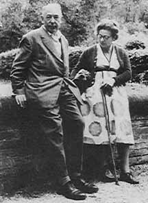 C.S. Lewis and Joy, in happier days