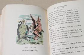 1940s-vintage-Alice-in-Wonderland-special-edition-book-color-Tenniel-illustrations-Laurel-Leaf-Farm-item-no-z713130-4